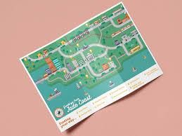 Tri Fold Map By Rowena Leanne On Dribbble