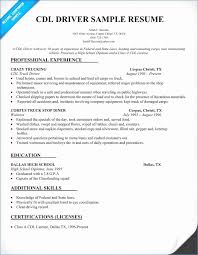 Sample Resume For Truck Driver Extraordinary Sample Truck Driver Resume Elegant Driver Resume Example College