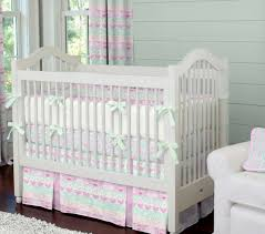 orchid and mint tribal crib bedding carousel designs our orchid carousel crib sheets new