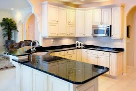 tile kitchen countertops white cabinets. These Beautiful Granite Counters Break Up The Brightness Of Rest Kitchen While Tile Countertops White Cabinets A