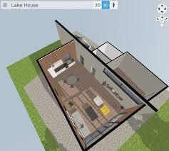 floor plan 3d. Lake House 3D Floor Plan 3d V