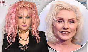 Cyndi Lauper bemoans ageism in media as Debbie Harry admits she's 'guilty  of it'