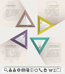 Infographic Website Template Business Infographic Chart Or Website Template With Set Of Icons