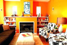 burnt orange living room decor themed bedroom ideas wall unique and grey art deco