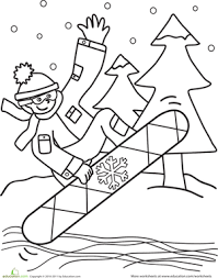 Small Picture 10 Kindergarten Winter Printables Educationcom