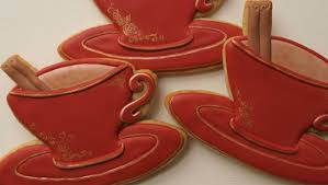 Decorating With Teacups And Saucers How To Decorate Tea Cup Cookies Collaboration with Küchenkram 40
