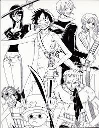 One Piece Full Color Az Colorare