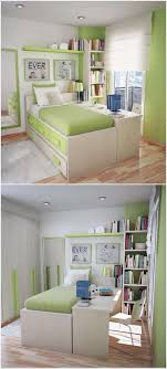 Small Desk Bedroom Put Study Desk Along The Bed So That It Doubles As A Bedside Table