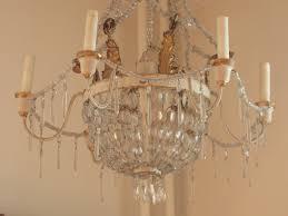 19th century french chandelier gilt crystal from jacqueline kennedy s interior designer raymond waldron