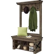 Hallway Seat And Coat Rack Coat Rack Bench With Mirror Wiz Me Image With Appealing Hallway Coat 97