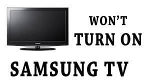 Samsung Phone Red Light Wont Turn On Samsung Tv Not Turning On Red Light Blinking
