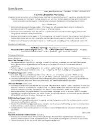 It Support Specialist Resume Sidemcicek Com