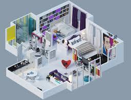 3D Home Interior Design Online Creative Cool Decorating Design