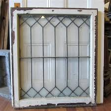 leaded glass windows for antique