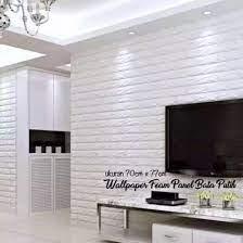 Wall Foam Dinding 3D Motif Bata 70cm x ...