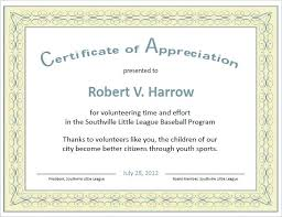 Certificate Of Appreciation Free Download Certificate Appreciation Templates Free Download Employee Of