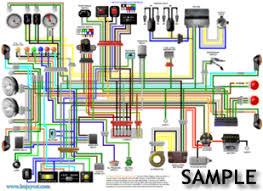 suzuki gsxr1000 k7 uk spec a3 large colour wiring loom diagram suzuki gsxr1000 k7 uk spec colour wiring diagram