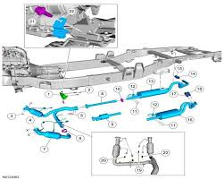 ford f150 replace catalytic converter how to ford trucks 1997 F150 4 6 Cpm Wiring Diagram step 2 locate the catalytic converter Ford F-150 Starter Wiring Diagram