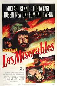 les miserables film the social encyclopedia les miserables 1952 film movie poster