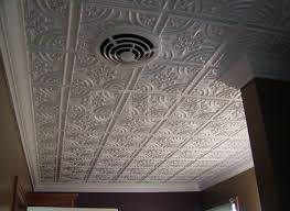 How To Install Decorative Ceiling Tiles Plastic Glue Up Drop In Decorative Ceiling Tiles 11