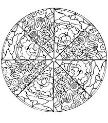 Mandala coloring pages for kids complex mandala coloring pages ...