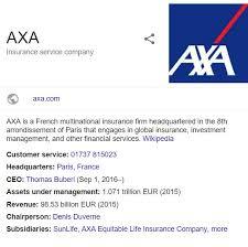 axa customer service contact phone number 0330 024 1158