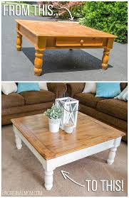 Best 20 Coffee Table Makeover Ideas On Pinterest Ottoman Ideas And Also  Beautiful Glass Coffee Table