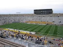 Notre Dame Stadium Seating Chart Garth Brooks Notre Dame Stadium View From Upper Level 107 Vivid Seats