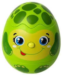 игрушка азбукварик яйцо сюрприз пингвинчик 4680019282145