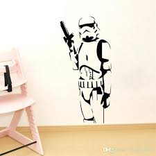star wars wall decals beautiful silhouette art sticker decal home decoration stickers canada elegant babies and