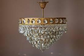 Decor Home Pendant Chandelierbrass Crystal Ceiling Flush
