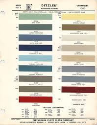 1962 Chevrolet Paint Chips Xframechevy Com
