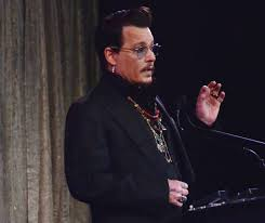 actor johnny depp announces lifetime achievement awards winners at the 2016 make up artists and