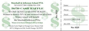 Cash Raffles Event Of The Week The Marshall And Jefferson Ptas Host A 50 50 Cash
