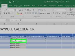 Hours Worked Calculator How To Prepare Payroll In Excel With Pictures WikiHow 18