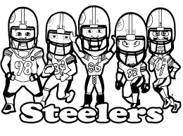 Small Picture PITTSBURGH STEELERSPrintable Football Steelers Coloring For Kids