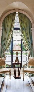arched window treatments. Arch Top Drapery Panels With Decoration Along The Leading Edge. English Traditional Draperies Available DesignNashville. Arched Window TreatmentsWindow Treatments