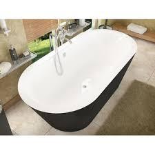 atlantis tubs 3265vy valley 32 x 65 x 23 inch freestanding soaking bathtub vz3265vy