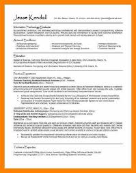Cv Examples For Graduates Undergraduate Student Template Resume ...