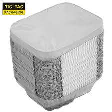 Jetable Boîte De Papier D'aluminium Conteneurs Pour L'emballage ...