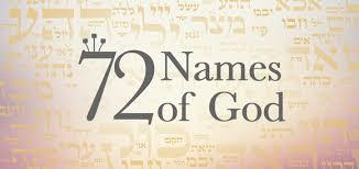 72 Names Of God Kabbalah Centre South Africa