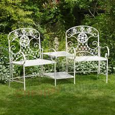 white iron garden furniture. More Views White Iron Garden Furniture .