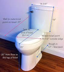 elongated bowl toilet dimensions. convenient height toilet dimensions elongated bowl