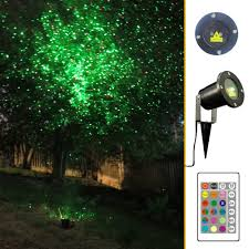 com garden tree and outdoor wall decoration laser lights for holiday lighting green and red patio lawn garden