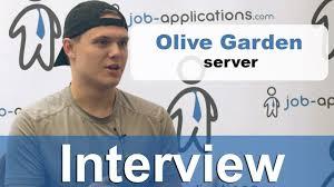 olive garden interview server