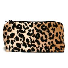 print makeup bag leopard makeup case soho soho large textured diamond train case in silver from
