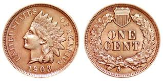 1903 Indian Head Penny Coin Value Prices Photos Info