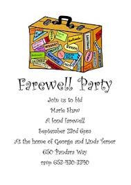 Farewell Invites For Colleagues Going Away Party Invitations New Selections Summer 2019