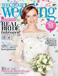 Immediate You And Your Wedding Magazine Features Media First Your Wedding Magazine