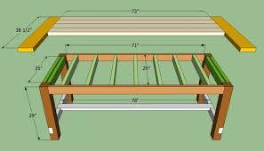 diy dining room table plans. diy farmhouse table plans diydry co build dining room